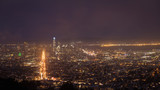 Panoramic view of downtown San Francisco, seen from Twin Peaks.