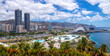 Leinwanddruck Bild - Panorama of the capital of Tenerife, Santa Cruz