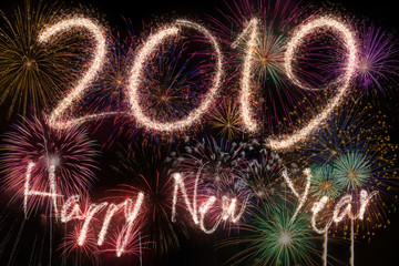New year eve fireworks © Minerva Studio
