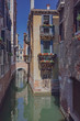 Venetian houses and canals of Venice, Italy