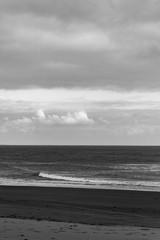 Mer en noir et blanc © Bastien