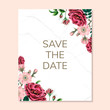Save the date pattern isolated on copy space - 235581807