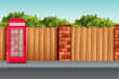 An urban street background - 235584865
