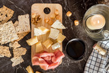 wine and cheese - 235603648