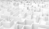 Fototapeta Przestrzenne - Labyrinth maze 3D © esoxx