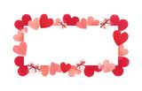 Happy Valentines day watercolor vector illustration. - 235622448
