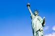 Freiheitsstatue vor blauem Himmel, New York City, USA