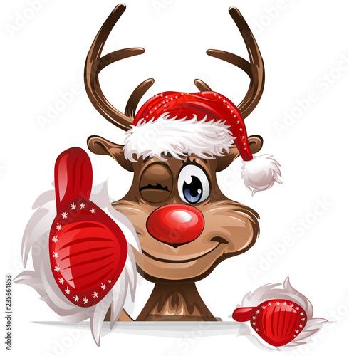 Rudolph Daumen hoch - 235664853