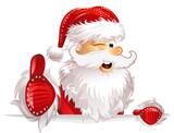 Weihnachtsmann Daumen hoch - 235665005