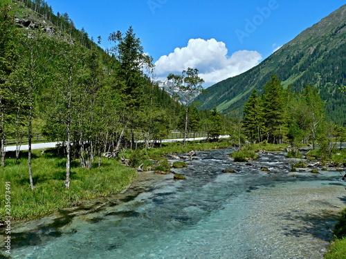 Austrian Alps-valley Weisspriachtal - 235673491