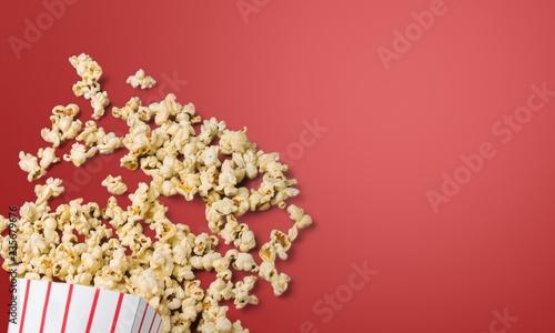 Leinwandbild Motiv Popcorn.