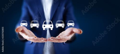 Human Hand  Car - 235702855
