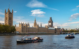 Palace of Westminster and The Houses of Parliament, London