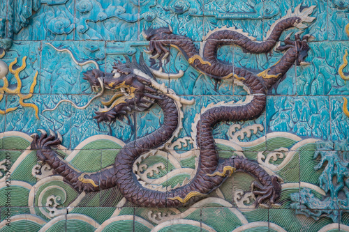 Neun-Drachen-Schrein, Verbotene Stadt, Beijing, China