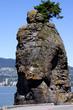 Siwash Rock Stanley Park Vancouver British Columbia Canada