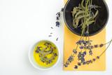 Fresh lavender and sage