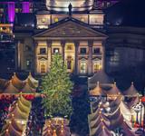 Christmas market near Deutscher Dom in Berlin, Germany - 235823634