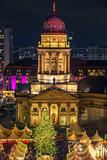 Christmas market near Deutscher Dom in Berlin, Germany - 235823678