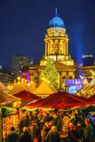 Christmas market near Deutscher Dom in Berlin, Germany - 235823878