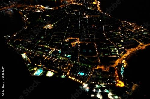 Cadiz von oben bei Nacht - 235854471