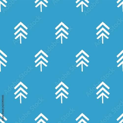 fototapeta na ścianę Endless Christmas Pattern with Christmas trees