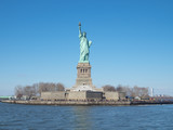 Statue of Liberty from Cruiser at Manhattan, New York City © 智大 永井