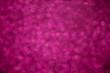 Leinwanddruck Bild - Pink bokeh defocused background