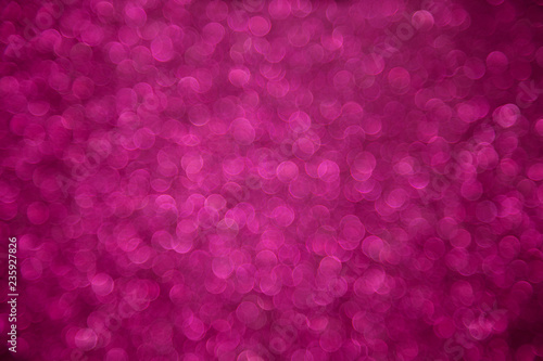 Leinwanddruck Bild Pink bokeh defocused background