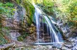 Djur-djur waterfall is located on the Ulu-Uzen river in the Crimea
