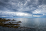 North coast of Corsica on a cloudy autumn day, France - 235952889