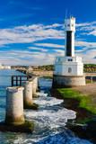 Phare et plage du Pays Basque-Anglet