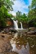 Haew Suwat Waterfall in Khao Yai Park, Thailand - 236032483