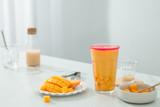 Mango mixed lactic acid bacteria drink