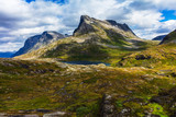 mountain landscape of Norway
