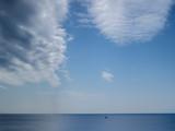穏やかな冬の海