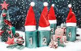 2.Advent Weihnachtsmütze Weihnachtsbaum Advent  - 236115059