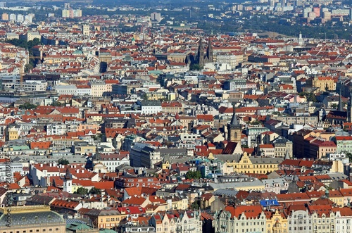 Prague is the capital of Czech Republic in Europe with many hous