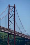 bridge in the sea, in Lisbon Capital City of Portugal