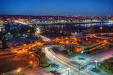 View on Key bridge at dawn, Washington DC, USA - 236232232