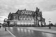 Leinwanddruck Bild - Dresden - Semperoper, Germany