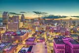 Detroit, Michigan, USA Downtown Skyline at Dusk - 236268432