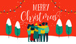 Christmas diverse friend group hug greeting card