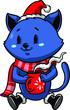 Christmas cat - 236274090