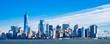 ニューヨーク マンハッタンの摩天楼 ワイド