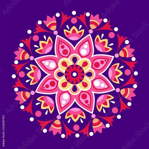 geometryczna dekoracja etniczna. Moda meksykańska, navajo, aztec, indiańska ozdoba. Element projektu kolorowy wektor dla ramki i granicy, włókienniczych, tkaniny lub druk papieru. Ilustracji wektorowych