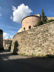 Street around the Castle of San Giusto