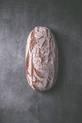 Fresh rustic bread