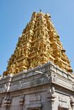 India. The state of Karnataka. Murdeshwar. Temple complex. Shiva's Golden Temple