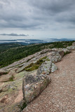 View from Cadillac Mountain in Acadia NP, Maine
