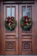 Brownstone Door Wreaths